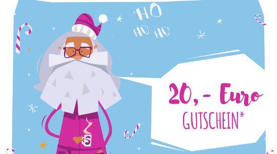 Frohe Weihnachten – 20 € Gutschein